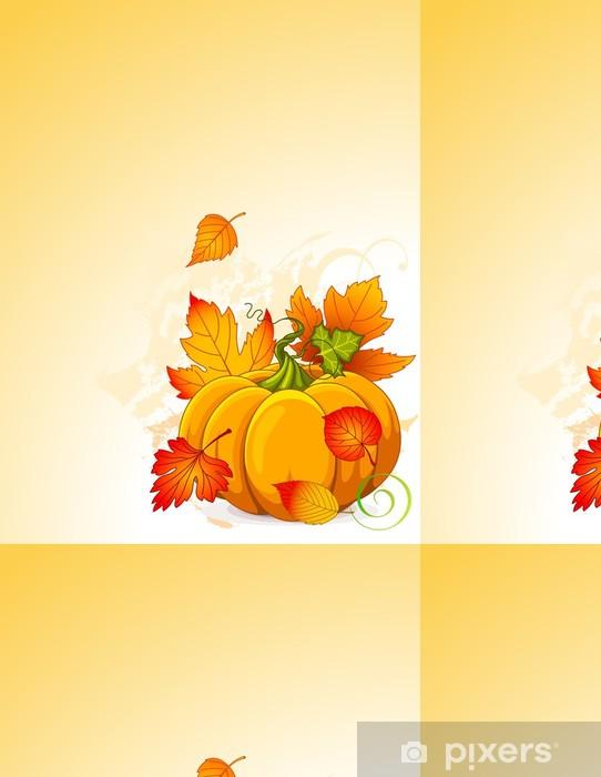 Vinylová Tapeta Podzimní dýně - Roční období