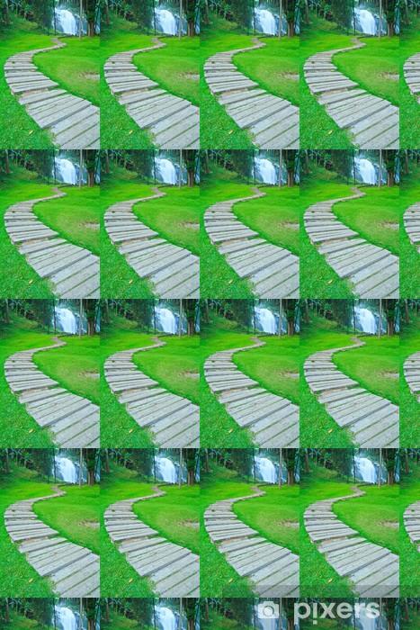 Papel pintado estándar a medida Camino en el jardín - Temas