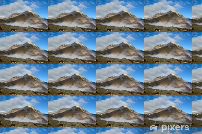 Vinyl behang, op maat gemaakt Bergtop - Thema's