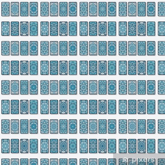 Tapete Visitenkarten Auflistung Mit Kaleidoskopmuster Nach Maß