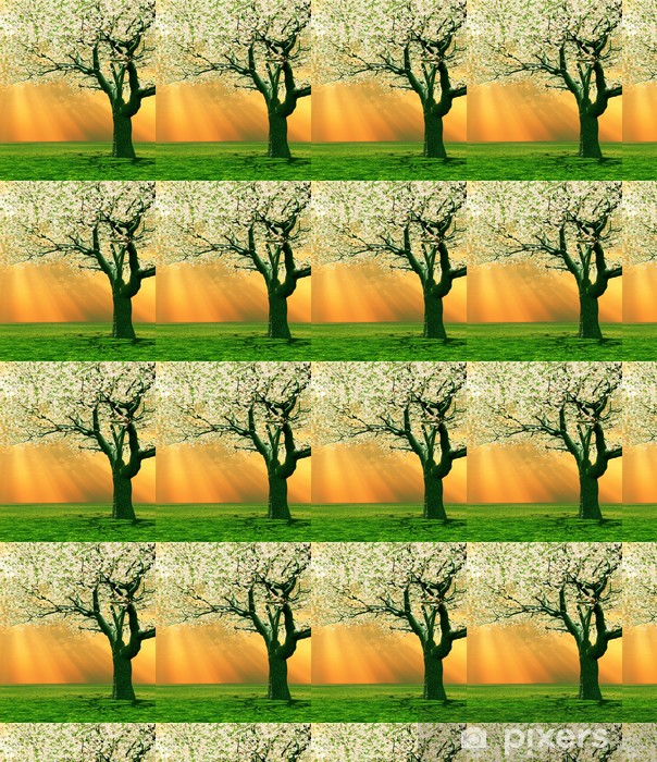 Vinyltapete nach Maß Frühling Landschaft - Jahreszeiten