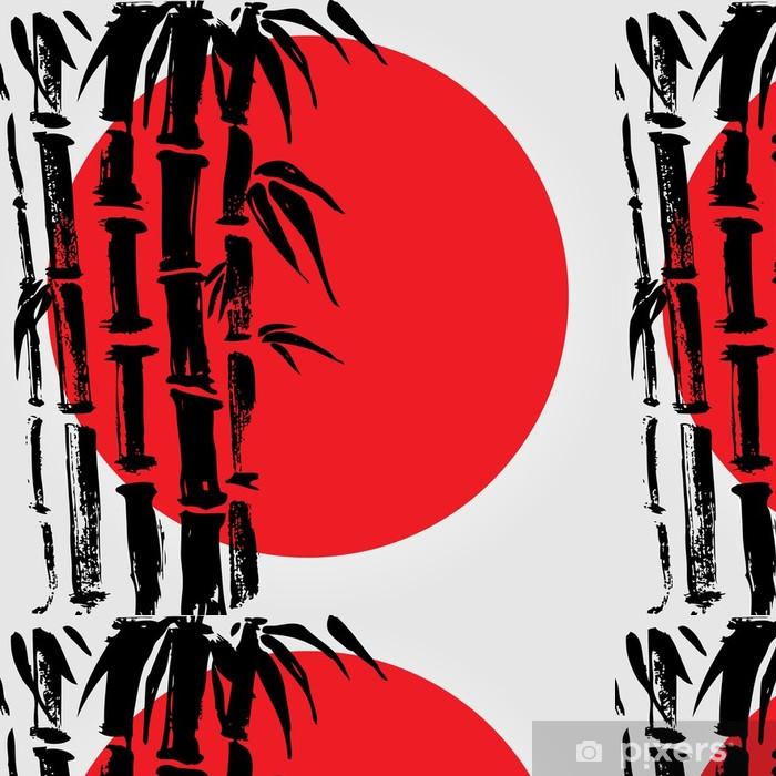 Vinylová Tapeta Bamboo v čínském stylu. - Rostliny