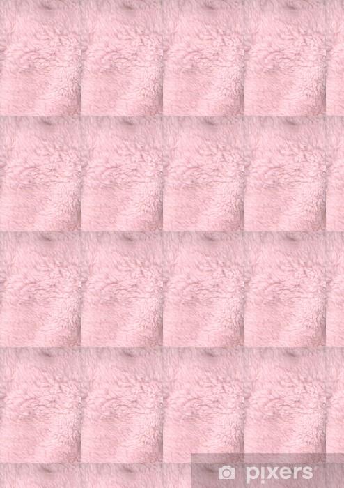 Vinylová tapeta na míru Růžová fun fur - Pozadí
