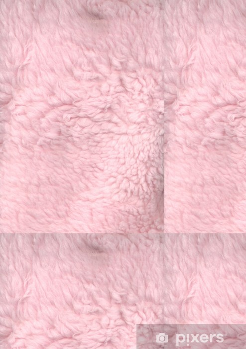 Vinylová Tapeta Růžová fun fur - Pozadí