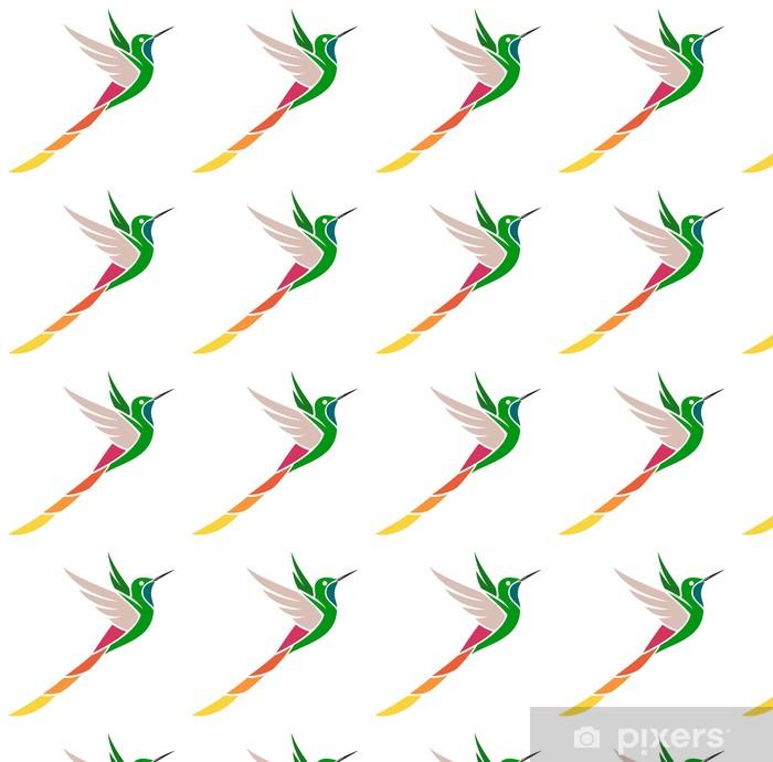 Vinylová tapeta na míru Hummingbird - redtailed Comet - Ptáci
