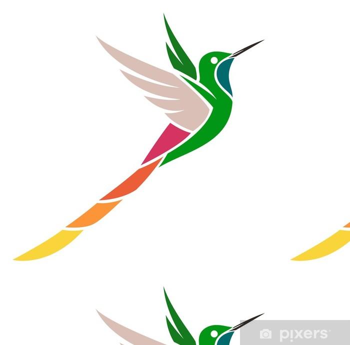 Vinylová Tapeta Hummingbird - redtailed Comet - Ptáci