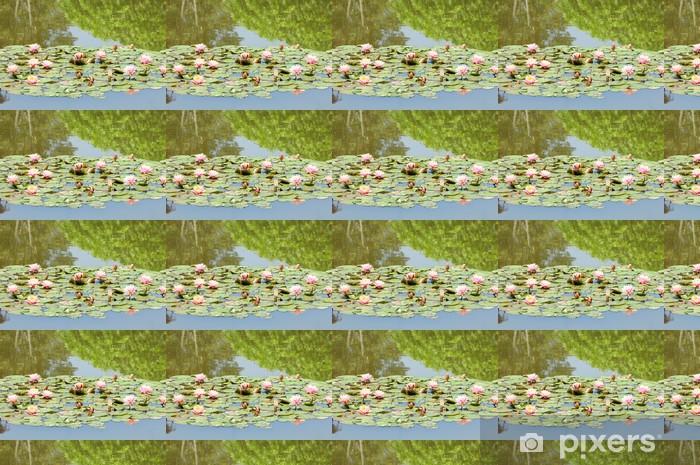 スイレン Vinyl custom-made wallpaper - Flowers