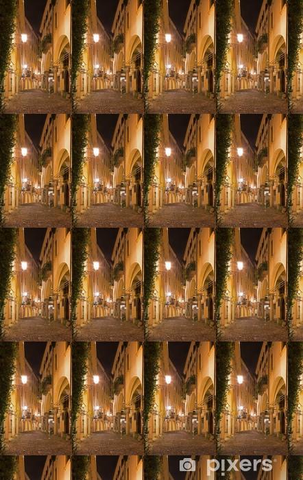 Tapeta na wymiar winylowa Padwa - ulica gheto w nocy. - Europa