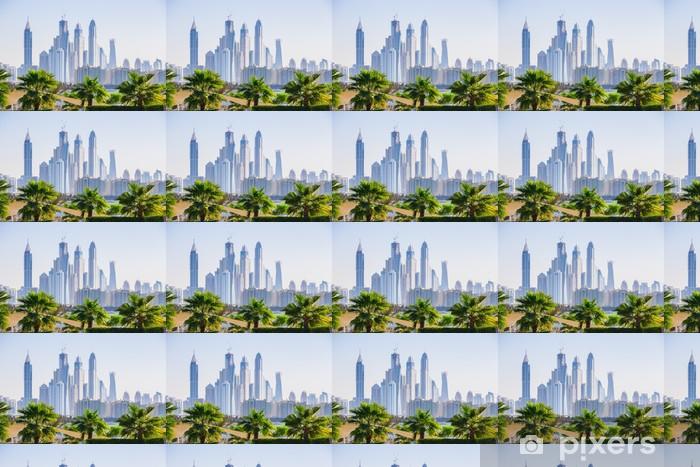 Tapeta na wymiar winylowa Dubai Marina. Zjednoczone Emiraty Arabskie - Inne