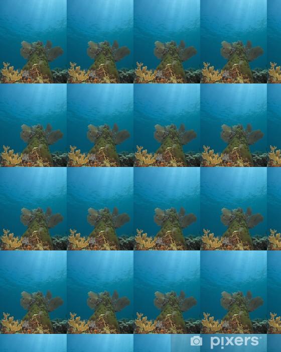 Papier peint vinyle sur mesure Recif coralien - Animaux marins