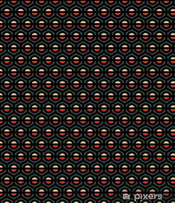 Vinyltapete nach Maß Ein nahtloses kunstvollen Stil Vektor-Muster - Hintergründe