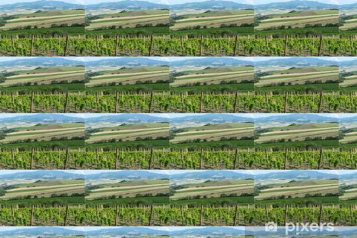 Tapeta na wymiar winylowa Montalcino, Toskania, Włochy - Rolnictwo