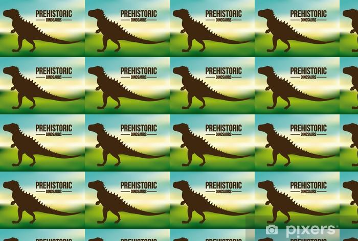 Tapeta na wymiar winylowa Projekt dinozaur - Inne przedmioty