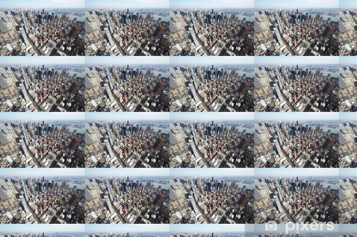 Vinylová tapeta na míru Panoráma města pohled na Manhattan z Empire State Building - Americká města