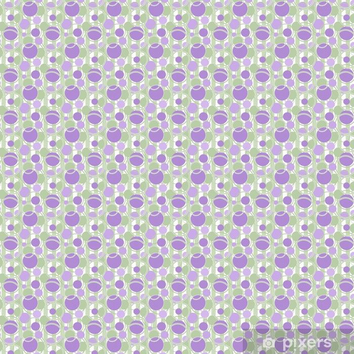Vinyl behang, op maat gemaakt Naadloze patroon cirkels sier achtergrond - Grafische Bronnen