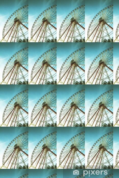 Vinylová tapeta na míru Vintage Retro Ferris Wheel - Situace v podnikání