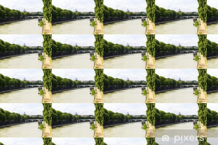 Özel Boyutlu Vinil Duvar Kağıdı Tiber nehri - Ağır sanayi