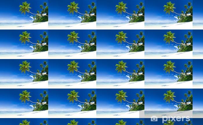 Tapeta na wymiar winylowa Tropikalna plaża i błękitne niebo przeznaczenia - Sztuka i twórczość