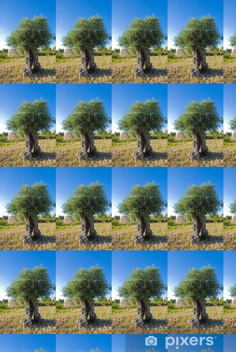 Tapeta na wymiar winylowa Oliwkowy - Drzewa