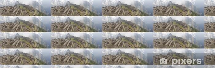 Vinyl behang, op maat gemaakt Machu Picchu - Amerika