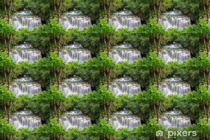 Vinyltapete nach Maß Schönen Wasserfall im Herbst Wald - Themen