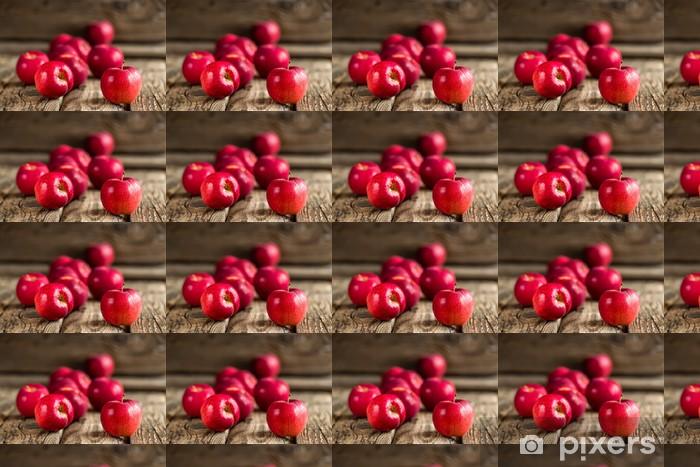 Vinyltapete nach Maß Äpfel - Früchte