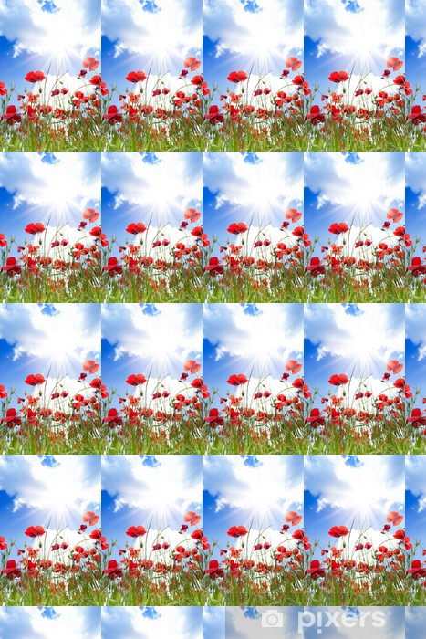 Close-up of poppies flowers Vinyl Custom-made Wallpaper - Themes