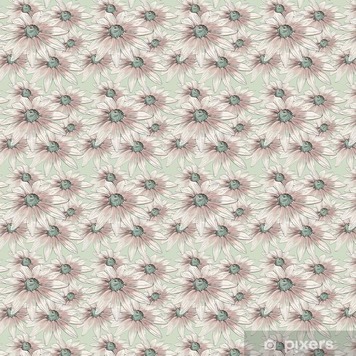 flower Vinyl custom-made wallpaper - Flowers