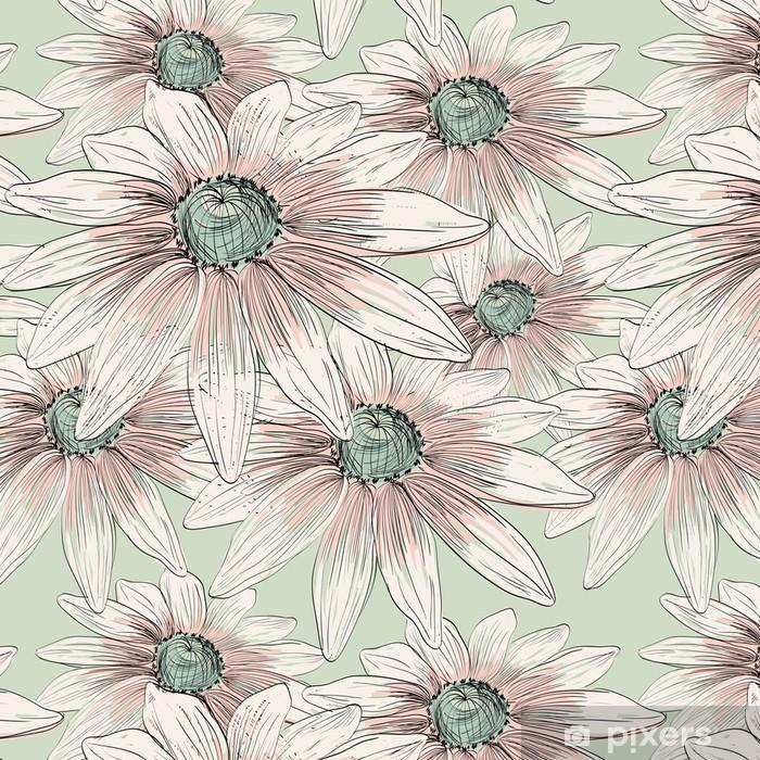 flower Vinyl Wallpaper - Flowers