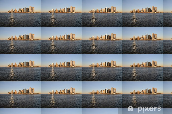 Vinylová tapeta na míru Manhattan Skyline Wolkenkratzer Hudson - Americká města