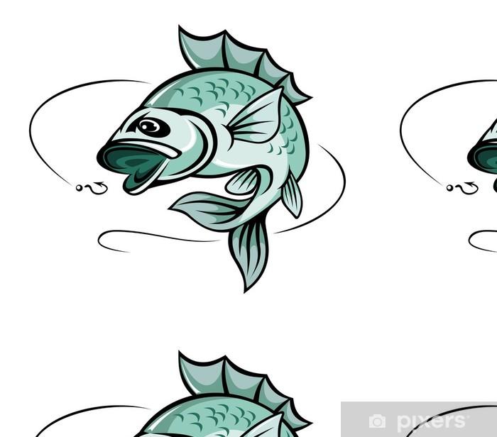Vinylová Tapeta Kapr ryby - Vodní a mořský život