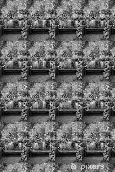 Tapeta na wymiar winylowa Ławka w ogrodzie - Religie