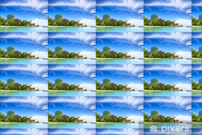 Vinylová tapeta na míru Anse Source d'Argent pláž, La Digue, Seyshelles - Roční období