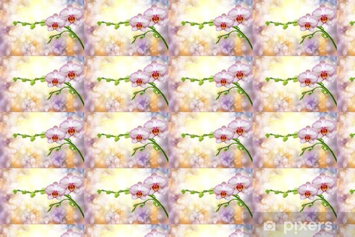 Papier peint vinyle sur mesure Fleur d orchidee - Fleurs