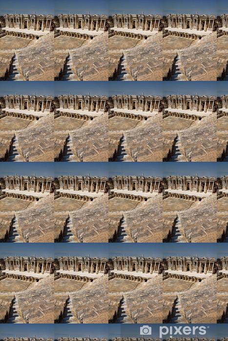 Papier peint vinyle sur mesure Théâtre antique Hiérapolis, Turquie - Afrique