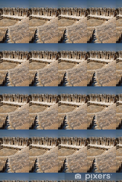 theater in ancient Hierapolis, Turkey Vinyl custom-made wallpaper - Africa