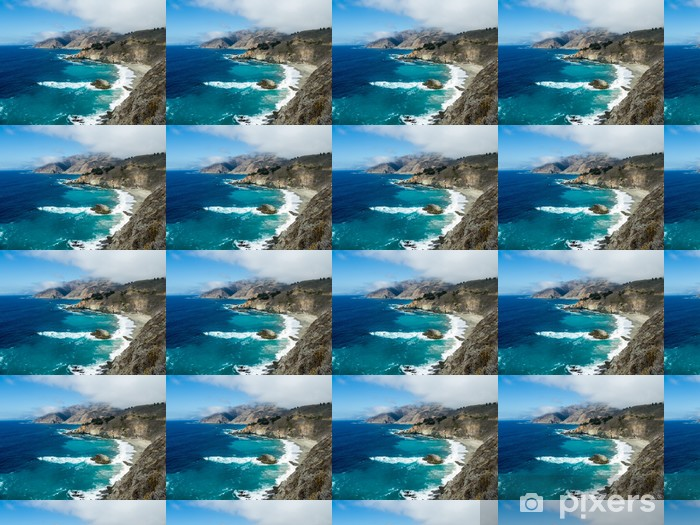 Vinyltapete nach Maß Die Big Sur Coast - Amerika