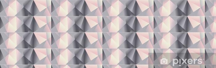 Geometric Bg Chrome Wallpaper Vinyl Custom Made