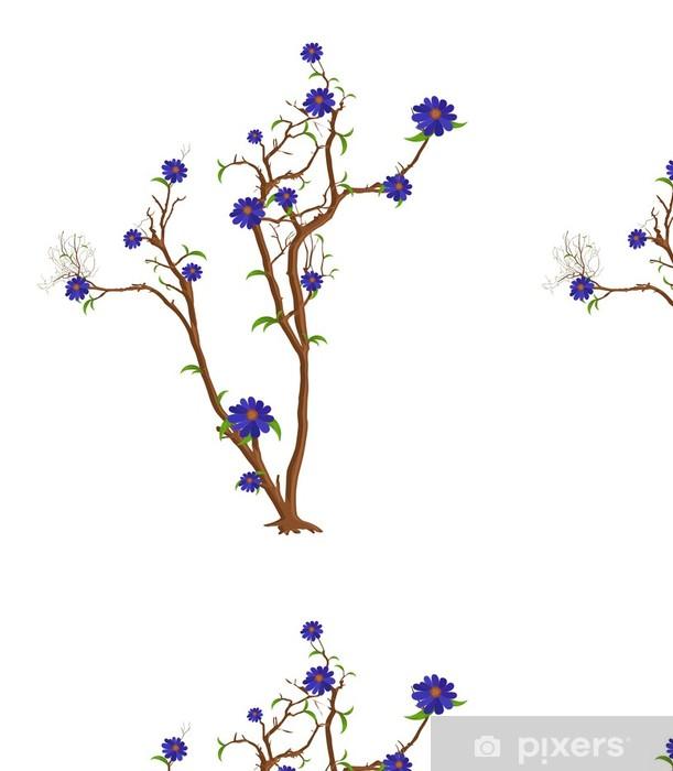 Vinylová Tapeta Vánoční strom květiny Vector - Roční období