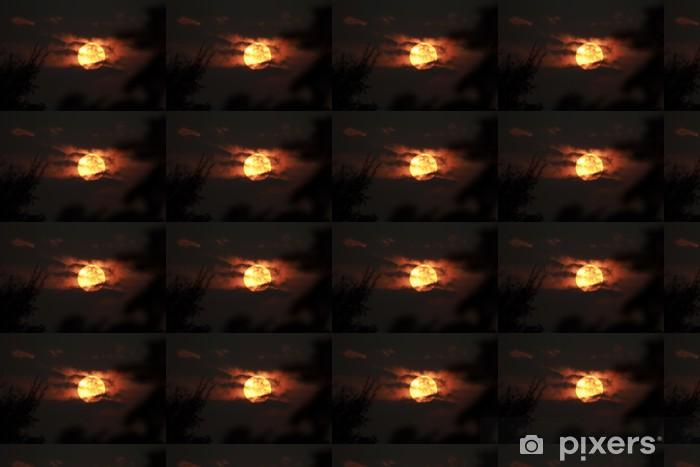 Vinyltapete nach Maß Sonnenuntergang mit Wolken - Stile