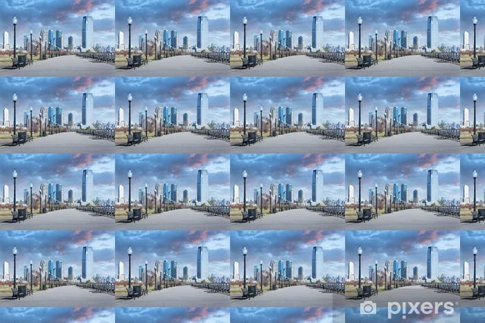 Papier peint vinyle sur mesure Liberty State Park New Jersey City - Villes américaines
