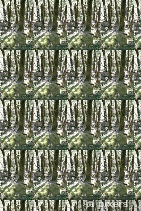 Vinylová tapeta na míru Stínu stromů - Oceánie