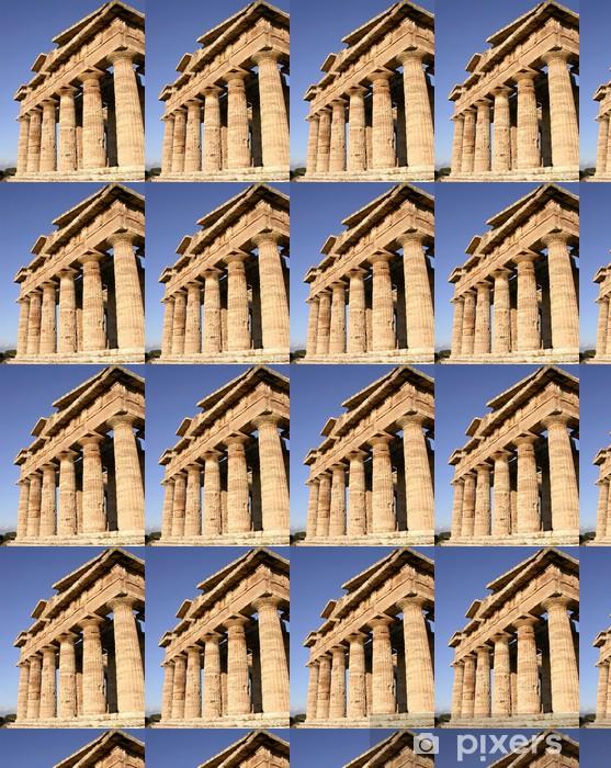 Papier peint vinyle sur mesure Temple grec n ° 2 - Monuments