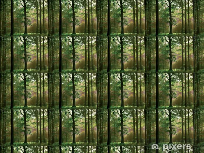 Papier peint vinyle sur mesure Sous-bois - Forêt