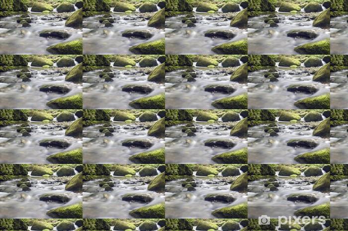 Vinyltapete nach Maß Cascata - Wasser