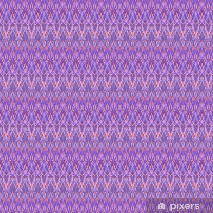 Vinyl behang, op maat gemaakt Naadloze geometrische patroon textiel ontwerp retro textuur backgro - Grafische Bronnen