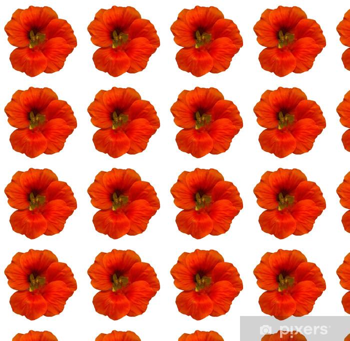 Vinyltapete nach Maß Kapuzinerkresse Kopf - Blumen