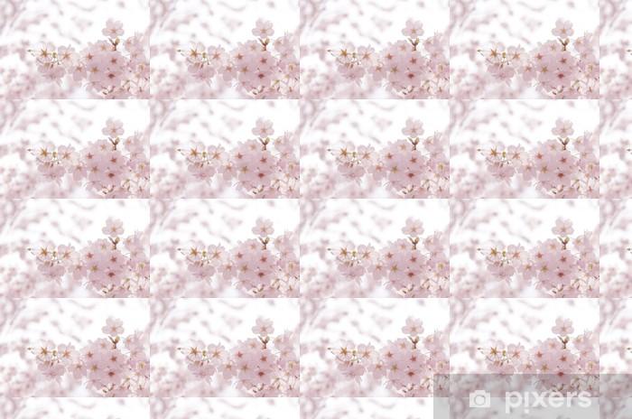 Papier peint vinyle sur mesure Fleurs de cerisier - Fleurs