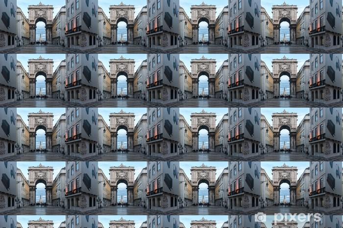 Vinyltapete nach Maß Lisbona, città 3 - Urlaub