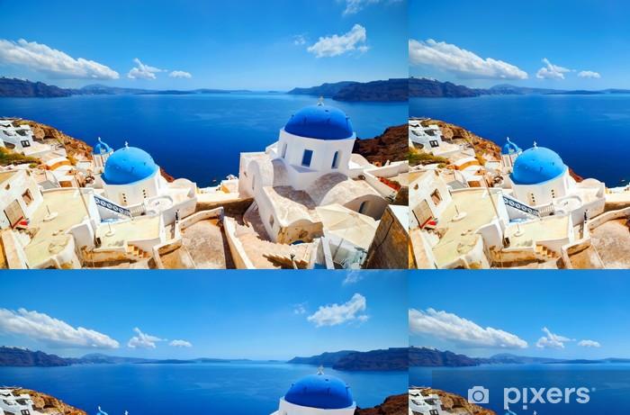 Vinylová Tapeta Oia město na ostrově Santorini, Řecko. Egejské moře - Evropa